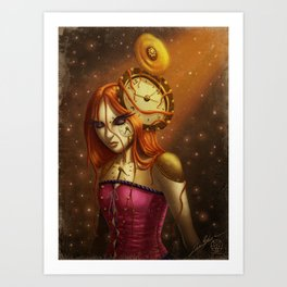 """""""Time After Time..."""" Art Print"""