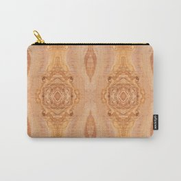 Olive wood surface texture abstract Carry-All Pouch
