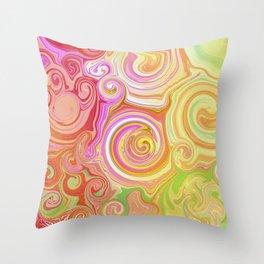 Wonka Swirl Throw Pillow