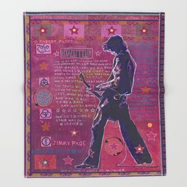 Jimmy Page Throw Blanket