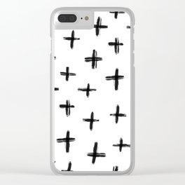 Star Crossed II Clear iPhone Case