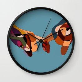 ETERNAL PROMISE Wall Clock