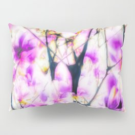 Abstracted magnolia branches Pillow Sham