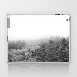 Forest Photography   Black and White Laptop & iPad Skin