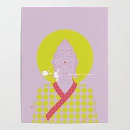 Buddha : Make Love! (PopArtVersion) Poster