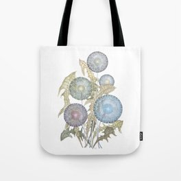 Dandelions watercolor painting Tote Bag