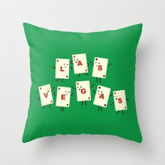 Viva Las Vegas! Throw Pillow