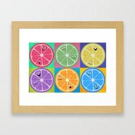 Citrus Club Framed Art Print