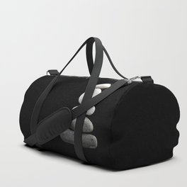 balance pebble art Duffle Bag