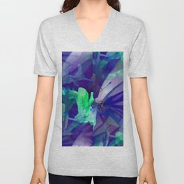 Butterfly in wonderland ... Unisex V-Neck