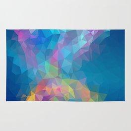 Galaxy Nebula Geometric Art Rug
