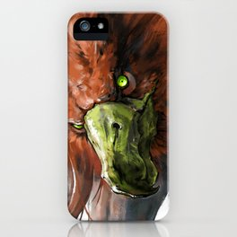 Griffin Mom iPhone Case