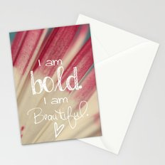 Bold and Beautiful Stationery Cards