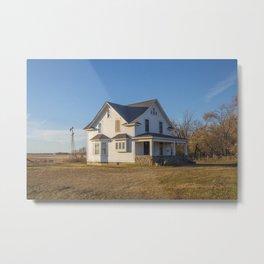 Beautiful House, Chaseley, North Dakota 3 Metal Print