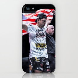 I love my country..I am the ONE.. iPhone Case