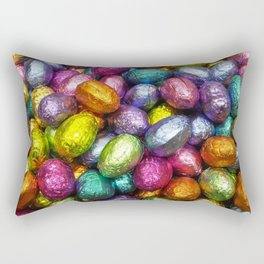 Chocolate Easter Eggs! Rectangular Pillow