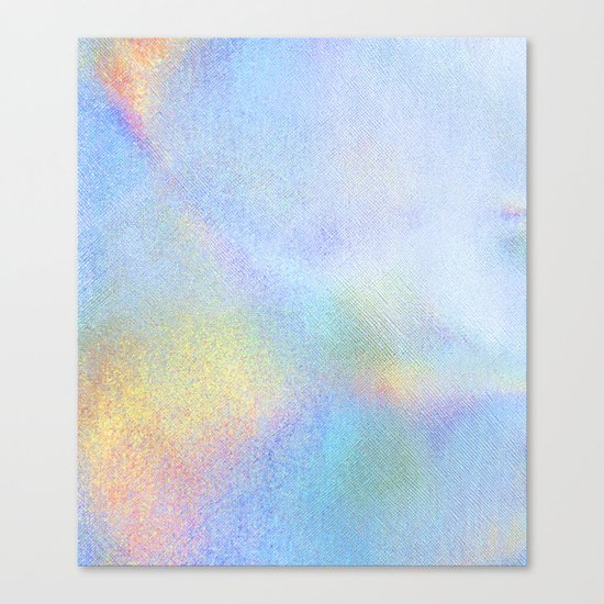 Holographic Iridescence Canvas Print
