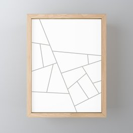 Modern Geometric 59 Framed Mini Art Print