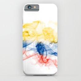 bandera de colombia iPhone Case