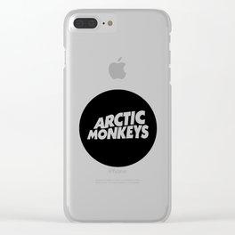 Arctic the monkeys logo Clear iPhone Case