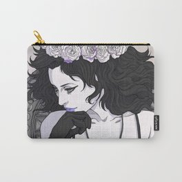 Death with Roses Carry-All Pouch