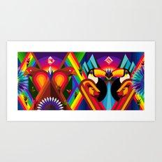 AMERICAN TASTE III Art Print