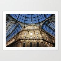milan Art Prints featuring Milan by Killick
