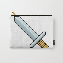 Retro Pixel : Sword Carry-All Pouch