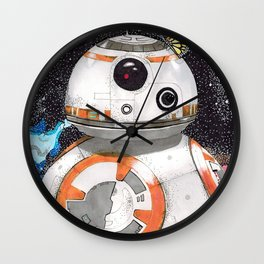 Space Exploration Wall Clock