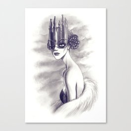 One Eyed Queen Canvas Print