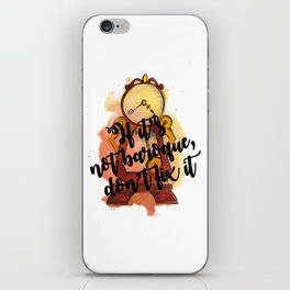 If It's Not Baroque, Don't Fix It iPhone Skin