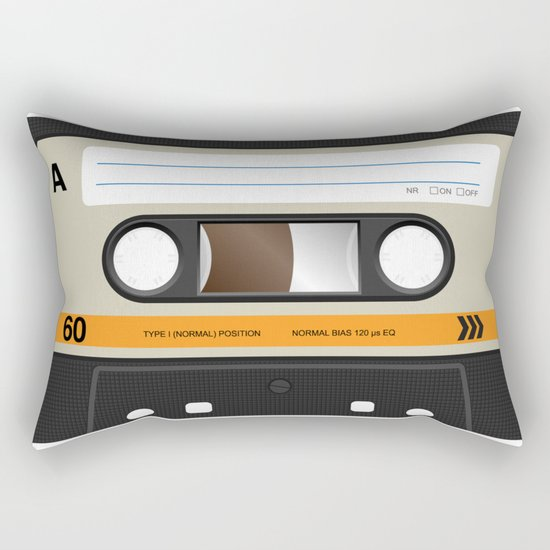 K7 cassette 8 90 Rectangular Pillow