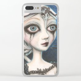 The morrigan Clear iPhone Case
