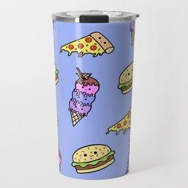 Fast Food Cuties (Blue) Travel Mug
