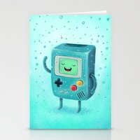game Stationery Cards featuring Game Beemo by Lime