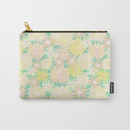 Spring Flowers Pattern Carry-All Pouch