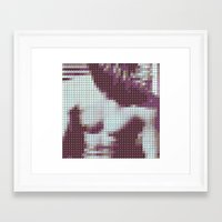 the smiths Framed Art Prints featuring The Smiths - The Smiths - Pantone Pop by Stuff.