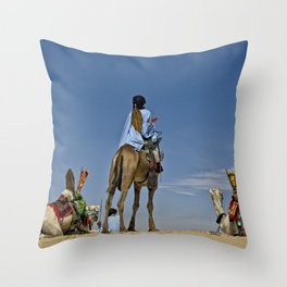 Three Wise Men - Africa Throw Pillow