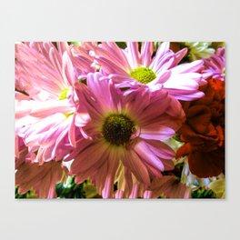 Sheltering Florals Canvas Print