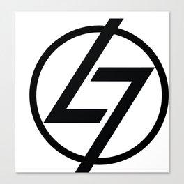 L7 Logo Canvas Print