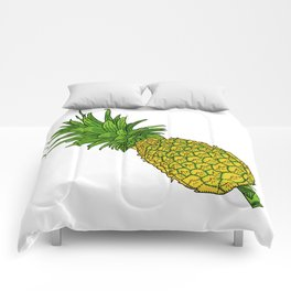 Pi the pineapple Comforters