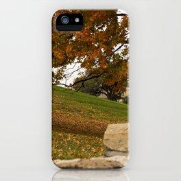 Autumn, Kansas City iPhone Case