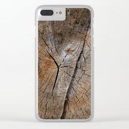 Stump 14 Clear iPhone Case