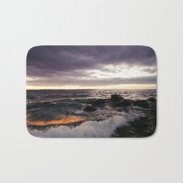 The Shoulders Of Waves Bath Mat