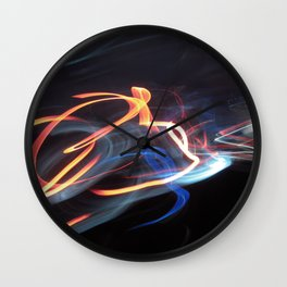 Speed of Light Wall Clock