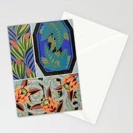 Vintage Art Deco design Stationery Cards