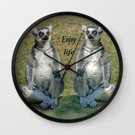 ENJOY LIFE Wall Clock