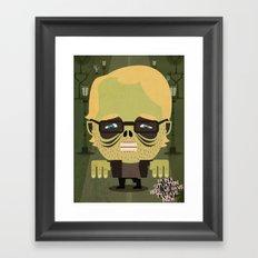 Philip Seymour Hoffman tribute Framed Art Print