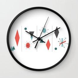Mid Century Modern Design Wall Clock