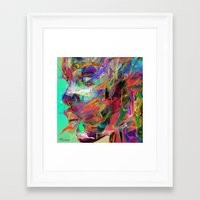archan nair Framed Art Prints featuring Balance by Archan Nair